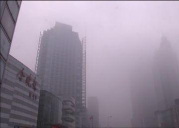 El 'timelapse' que muestra cómo una nube de contaminación envuelve la ciudad