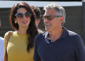 Amal y George Clooney esperan gemelos, según la prensa libanesa
