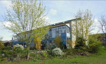 Imagen de una de las casa del proyecto de Casas Pasivas.