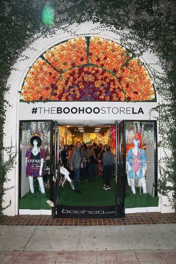 'Pop up store' de Bohoo en Los Ángeles.