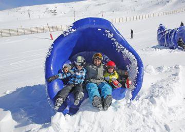 Las mejores estaciones de esquí para ir con niños en España y Andorra