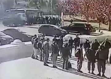 Atentado en Jerusalén | El momento en el que el camión arrolla a las víctimas