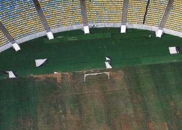 Así han dejado el Estadio de Maracaná