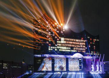 Inauguración del auditorio de Hamburgo