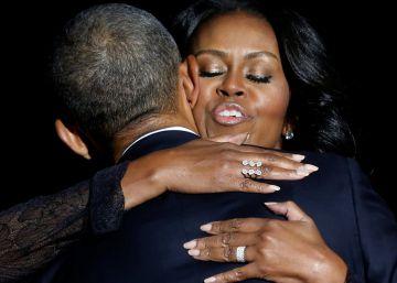 """Michelle Obama llama """"zorro plateado"""" a su marido en el programa de Jimmy Fallon"""