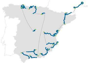 Recorrido de La Vuelta 2017