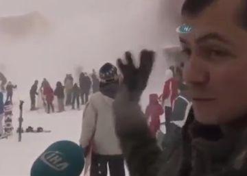 La insólita reacción de un hotelero turco ante una avalancha que sepulta a sus huéspedes