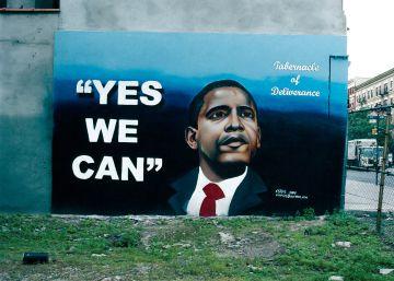 Los murales de Obama
