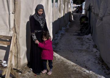 Jóvenes madres, el futuro incierto de los refugiados