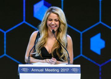 Shakira, premiada en el Foro de Davos por su apoyo a la educación