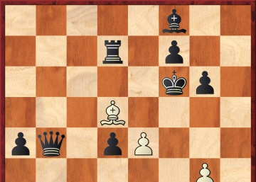 Carlsen por escaques blancos