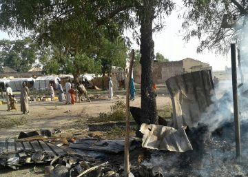 Más de 50 fallecidos en un bombardeo del Ejercito nigeriano en un campo de refugiados