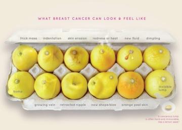#KnowYourLemons: Una foto y 12 limones para aprender a detectar el cáncer de mama