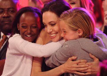 La madre de Zahara le pide a Angelina Jolie ver a su hija