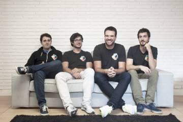Los cuatro fundadores de Edpuzzle (Santi Herrero, Quim Sabrià, Xavier Vergés y Jordi González).