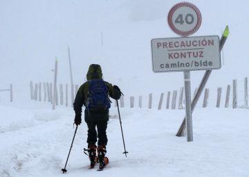 Temporal de frío en España