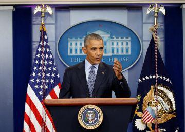 Última rueda de prensa de Obama en la Casa Blanca