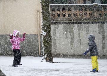 Cómo proteger a los niños de la ola de frío