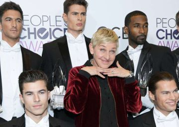Ellen DeGeneres recibe tres premios en los People's Choice Awards