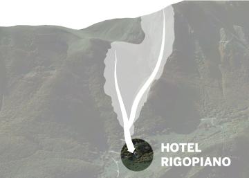 Hotel sepultado por un alud en Italia