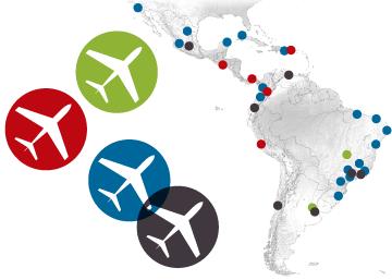 Un sector aéreo en auge