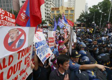 Protestas contra la investidura de Donald Trump