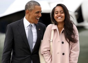 Malia Obama, becaria de los hermanos Weinstein