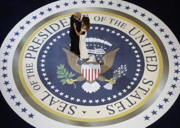 El baile presidencial de Donald y Melania Trump
