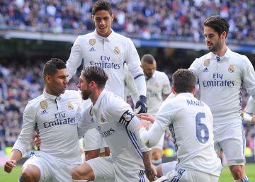 Real Madrid - Málaga, las imágenes del partido