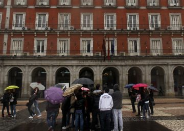 Madrid vive y muere en la plaza Mayor