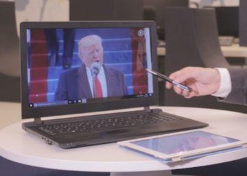 Lo que no habías visto en el discurso de Donald Trump