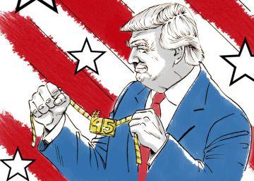 La investidura de Donald Trump, en viñetas