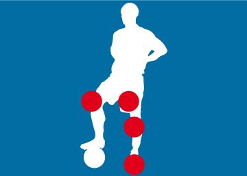 Jugadores lesionados en el Real Madrid esta temporada