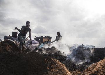 Las mujeres carboneras de San Pedro