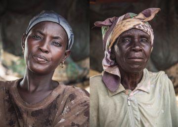 Los rostros de unas mineras