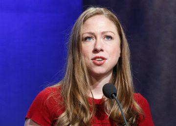 Chelsea Clinton defiende al hijo pequeño de Donald Trump