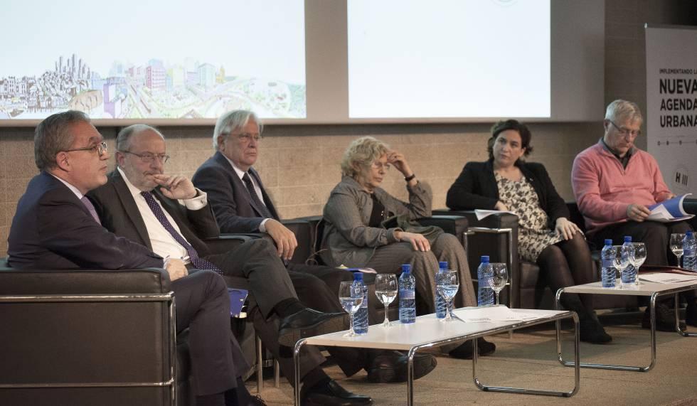 Un momento del encuentro 'Los objetivos de desarrollo sostenible y la nueva agenda urbana' celebrado en Madrid el 25 de enero.