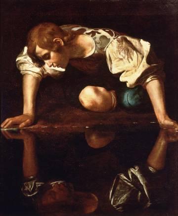 'Narciso', de Caravaggio, expuesto en la Galería Nacional de Arte Antiguo de Roma.