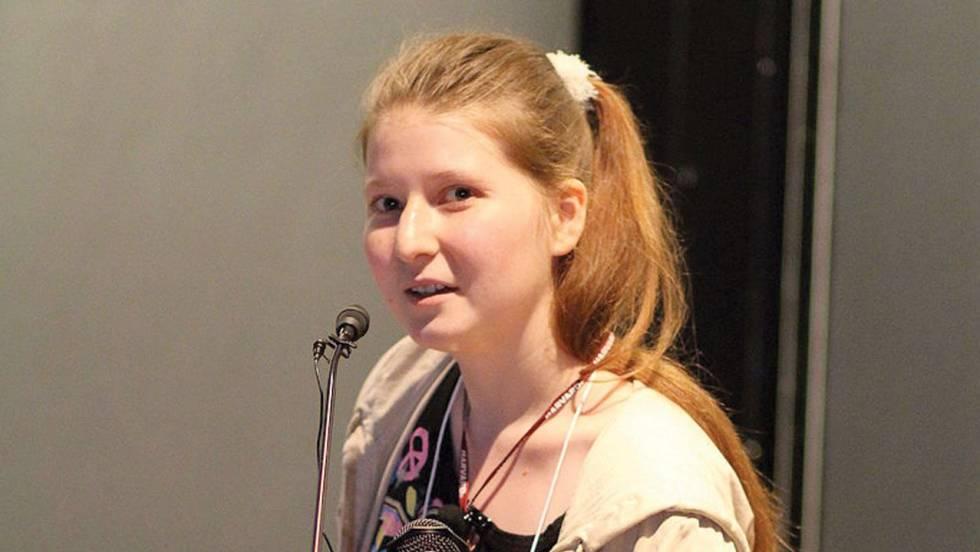 Alexandra Elbakyan, fundadora de Sci-Hub.