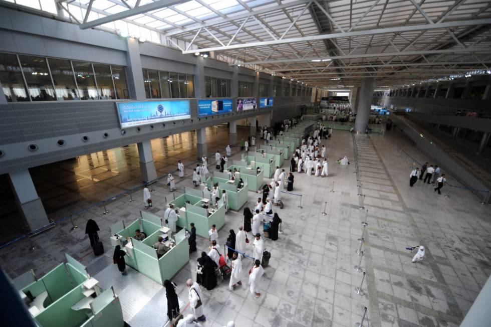 Aeroporto Internacional de Jeddah.
