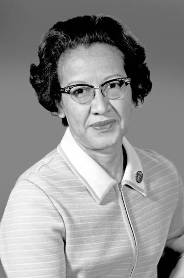 Katherine Johnson, matemática de la NASA.