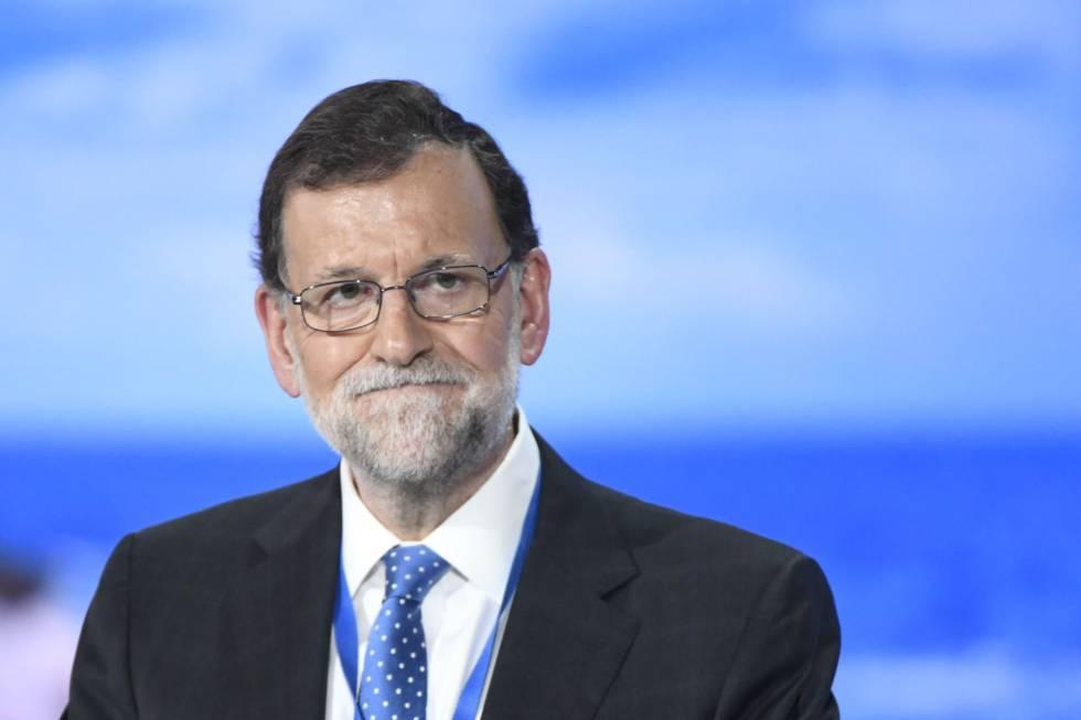Mariano Rajoy, ayer durante el congreso del Partido Popular. rn