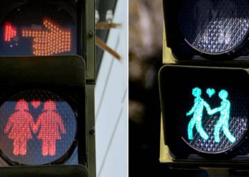 Spanish city gives green light to same-sex pedestrian crossing signals