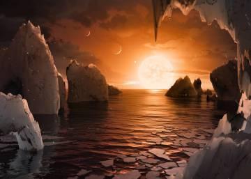 Anuncio de la NASA: Hallado un sistema solar con siete planetas como la Tierra