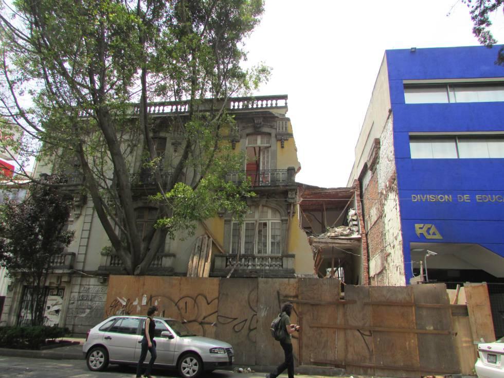 La colonia Juárez, en Ciudad de México, está en plena gentrificación.