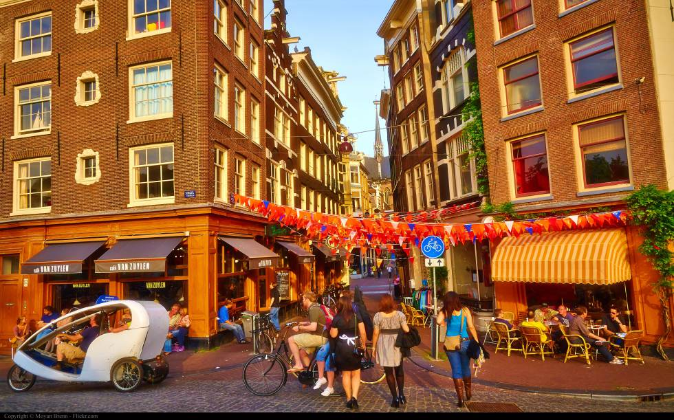 Movilidad sostenible en Ámsterdam
