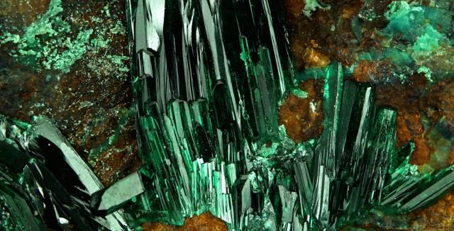 La atacamita se encontró por primera vez en minas de Atacama (Chile).