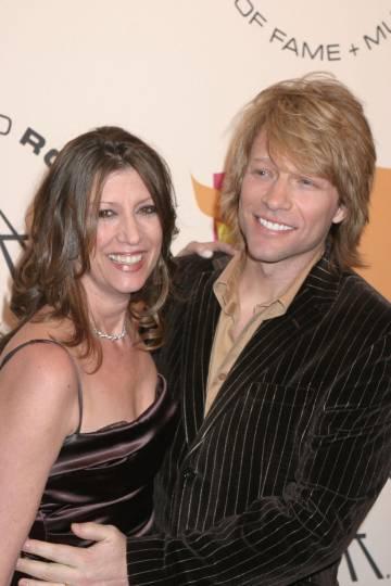Bon Jovi y su mujer Dorothea en 2005.