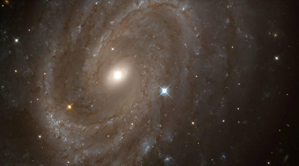 Imagen de las cefeidas mostrada por el telescopio espacial Hubble.rn
