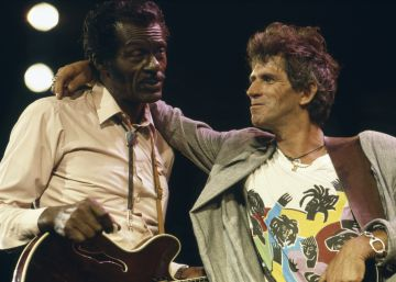 El día que Chuck Berry pegó un puñetazo a Keith Richards